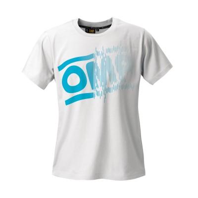 T-Shirt OMP Striped Logo