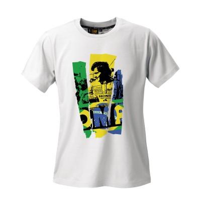 T-Shirt Ayrton Senna Últimas Unidades XL