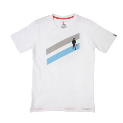 T-Shirt OMP Stripes Two