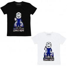 T-Shirt Sparco Future Driver Criança