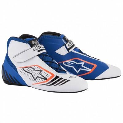 Botas Alpinestars Tech 1 KX - Branco/Azul