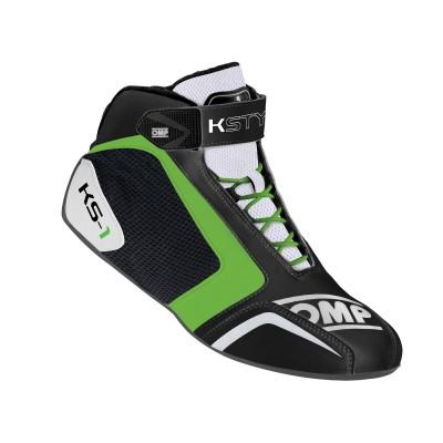Botas OMP KS1 - Preto/Verde
