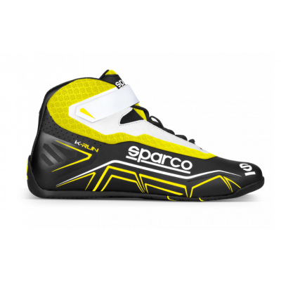 Botas Sparco K-Run Preto-Amarelo