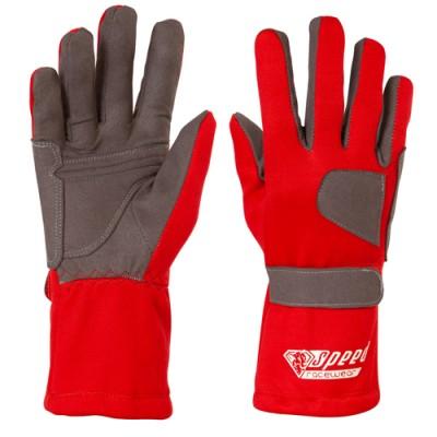 Luvas Speed Standard Vermelhas