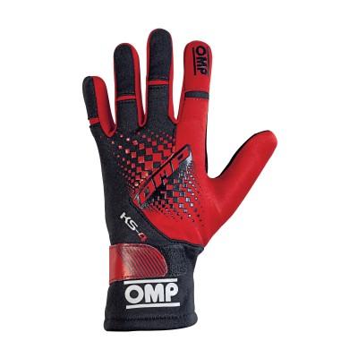 Luvas OMP KS-4 - Vermelho