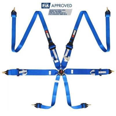 Cinto RRS R6Hans FIA Azul