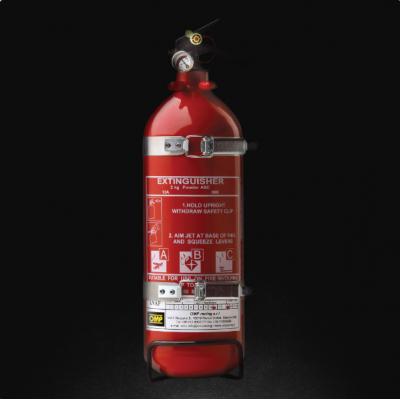 Extintor OMP Manual 2kg Alumínio FIA