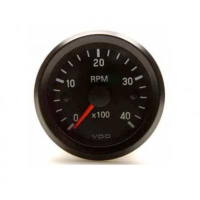 Conta-rotações VDO 4000 RPM Diâmetro 52 Diesel