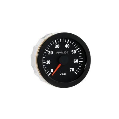Conta-rotações VDO 7000 RPM Diâmetro 80 Gasóleo/Gasolina