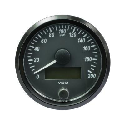 Contador de Velocidade VDO SingleViu 80mm 200Km/h