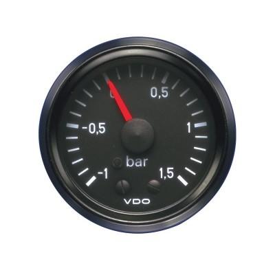 Manómetro Pressão Turbo VDO Vision 1,5Bar