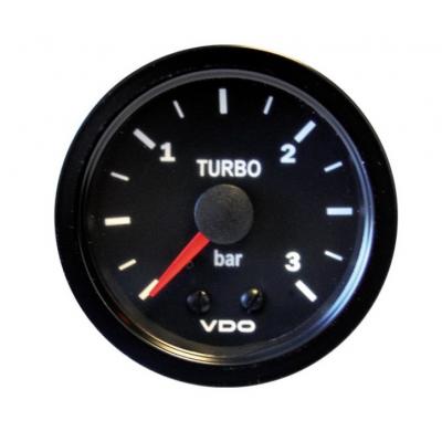 Manómetro Pressão Turbo VDO Vision 0-3 Bar