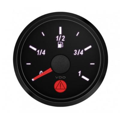 Manómetro Nível Gasolina VDO SingleViu 52mm