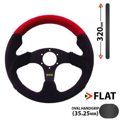 Volante RRS RED 320mm