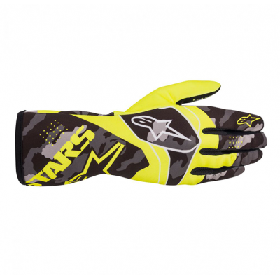 Luvas Alpinestars Tech-1 K Race Camo/Amarelo