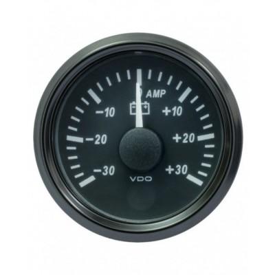 Amperímetro VDO SingleViu Diâmetro 52mm 30A