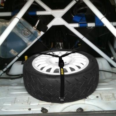 Amarra para pneu suplente RRS