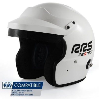 Capacete RRS Protect Jet FIA 8859-2015
