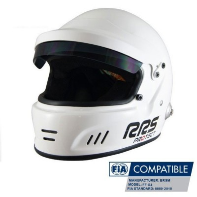 Capacete RRS Protect Rally Integral FIA 8859-2015