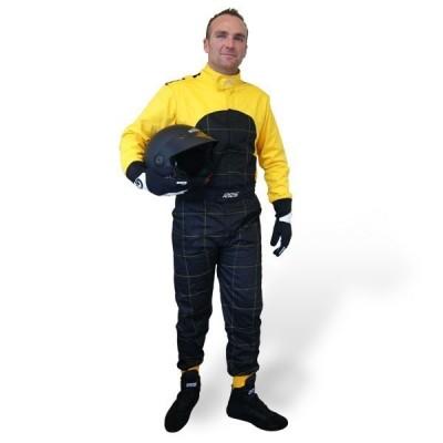 Fato RRS Mecânico/Karting Amarelo