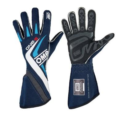 Luvas OMP ONE S FIA - Azul