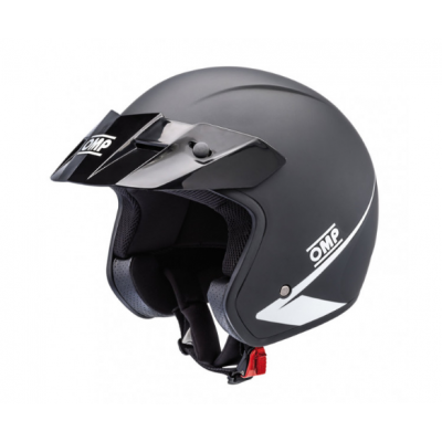 Capacete OMP STAR Trackday Offroad - Preto