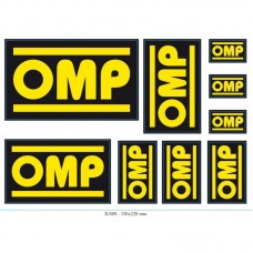 Kit Autocolantes OMP